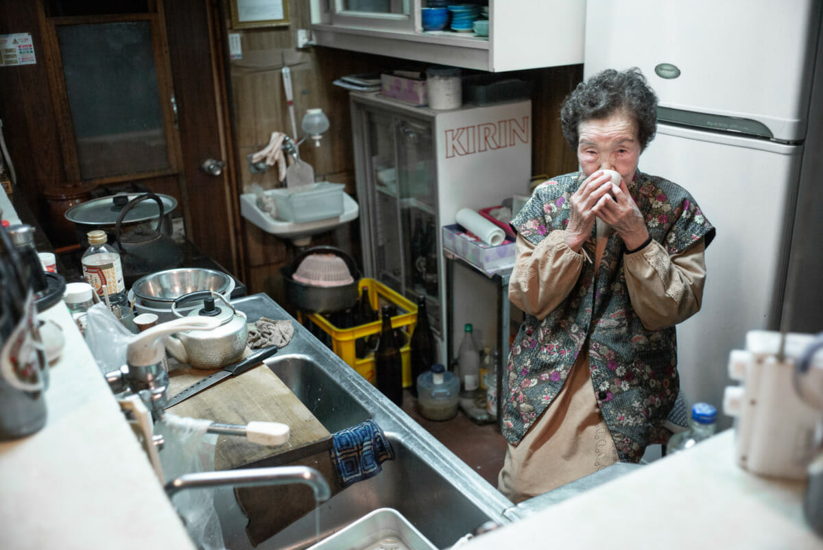 a 93-year-old Tokyo bar owner