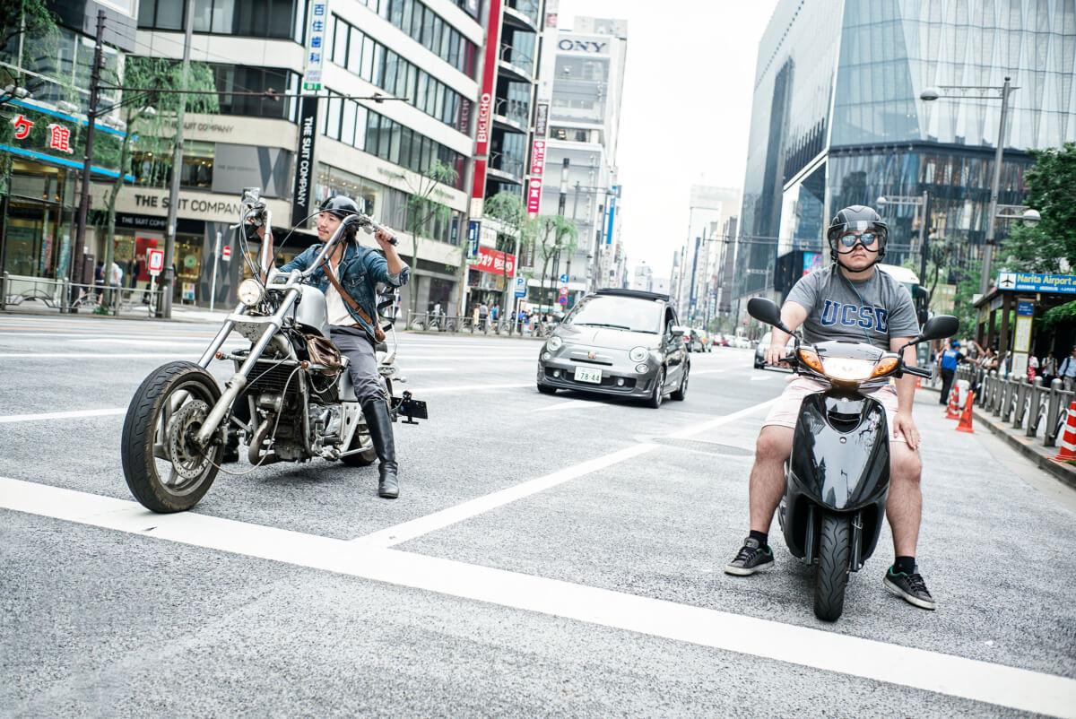 Tokyo bikers