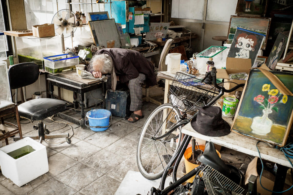 Japan A portrait of the artist as an old man