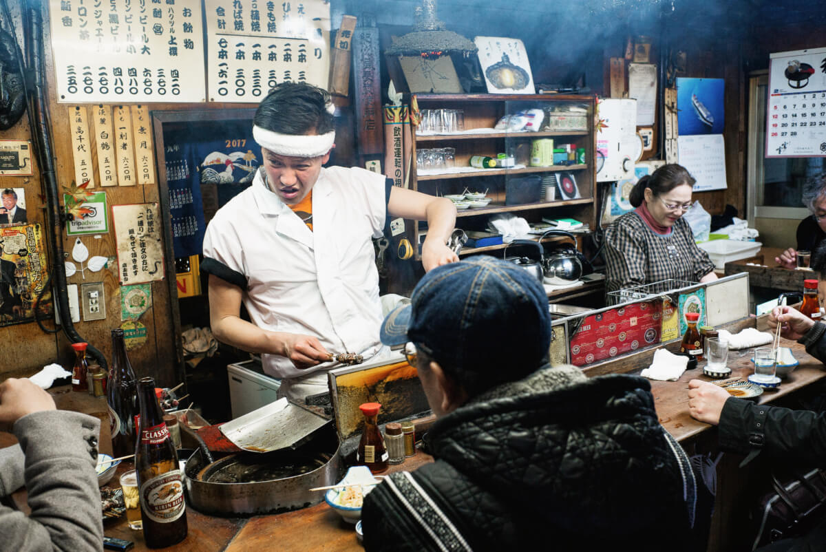 an almost timeless old Tokyo bar