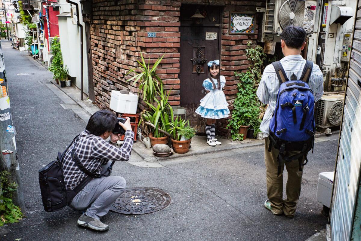 creepy and uncomfortable Tokyo