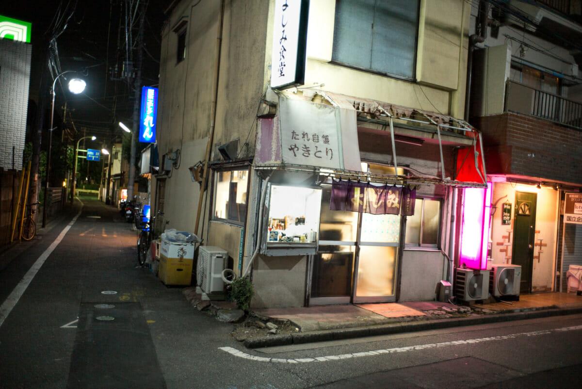 a now demolished Tokyo karaoke bar