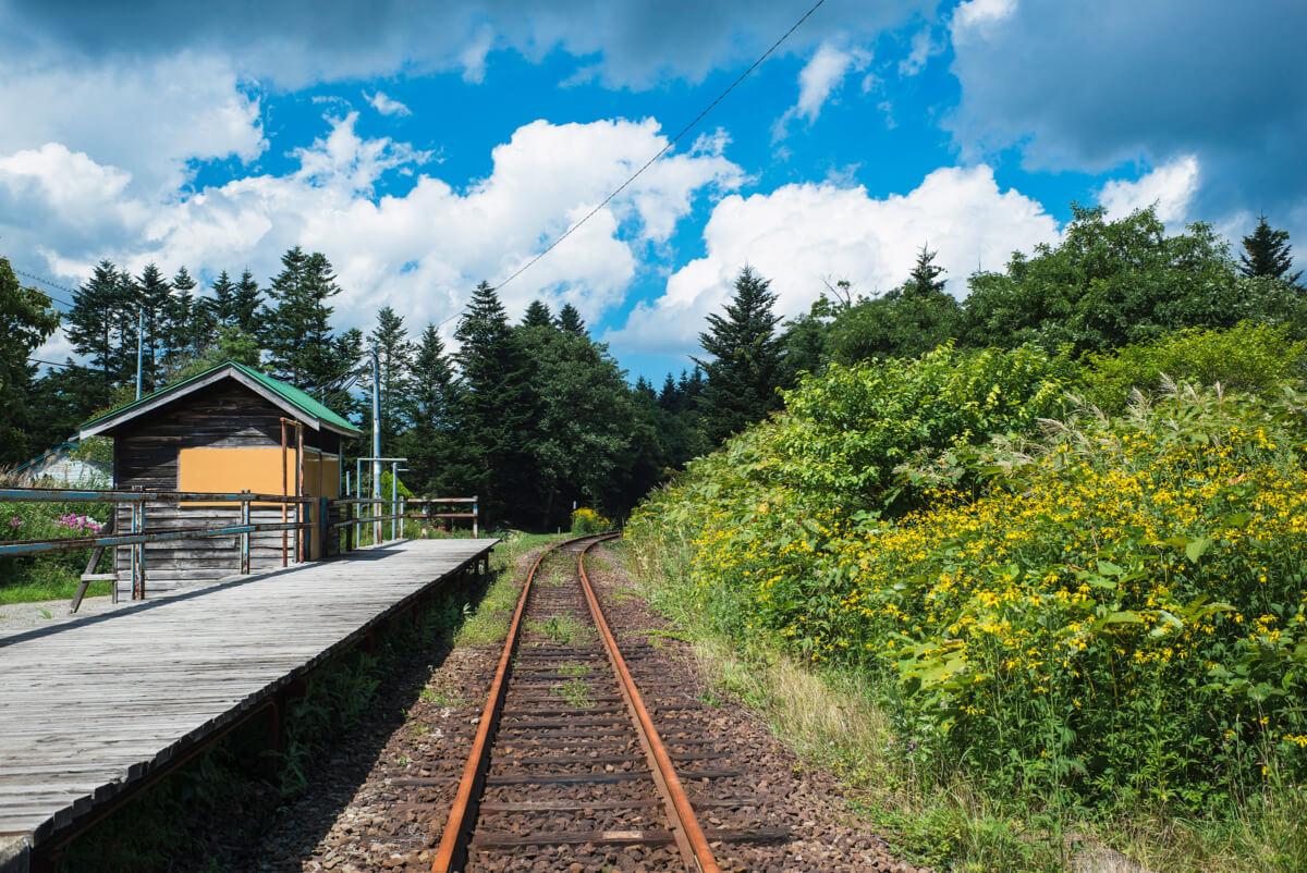 abandoned Japanese train stations
