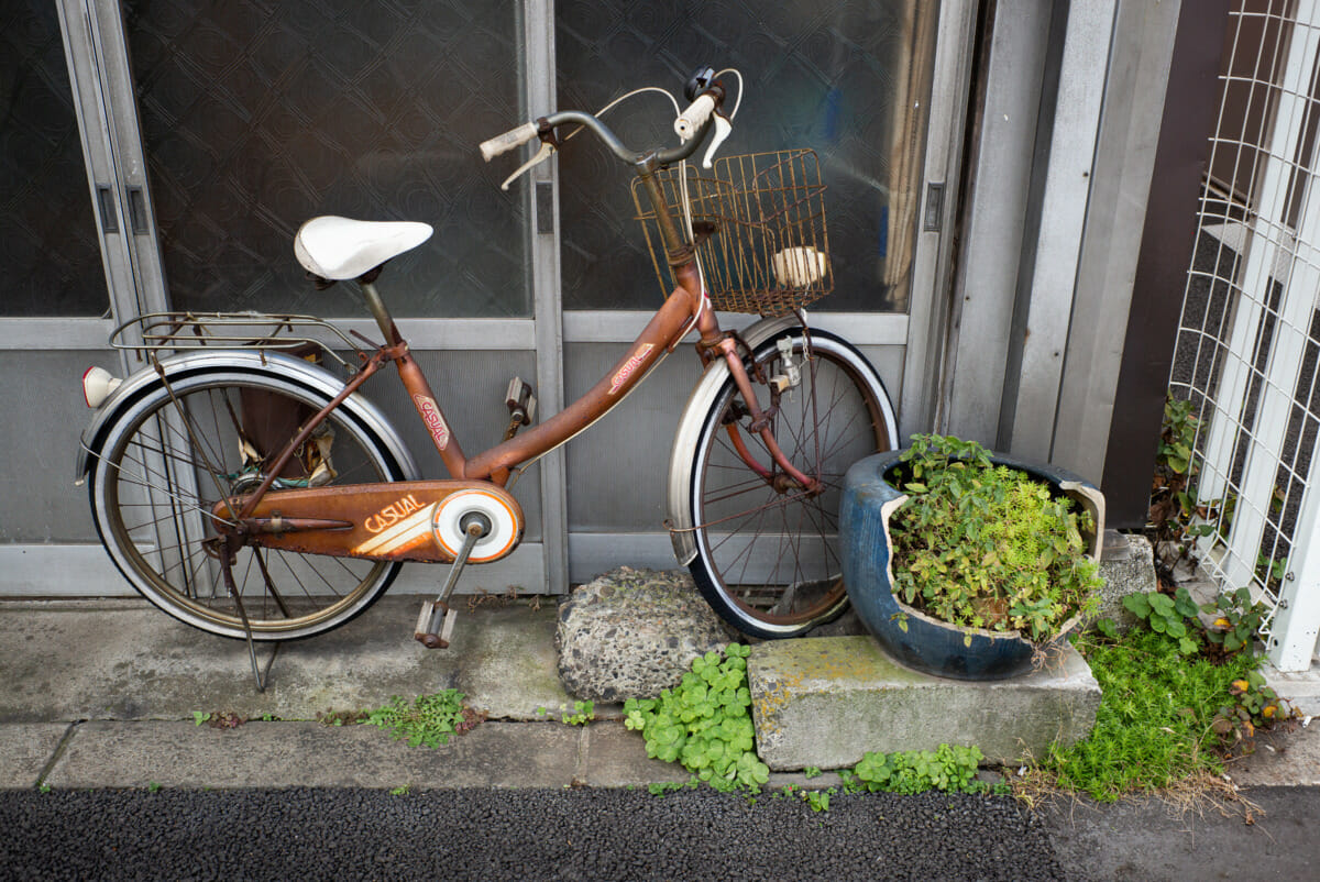 Long-forgotten Tokyo bicycles