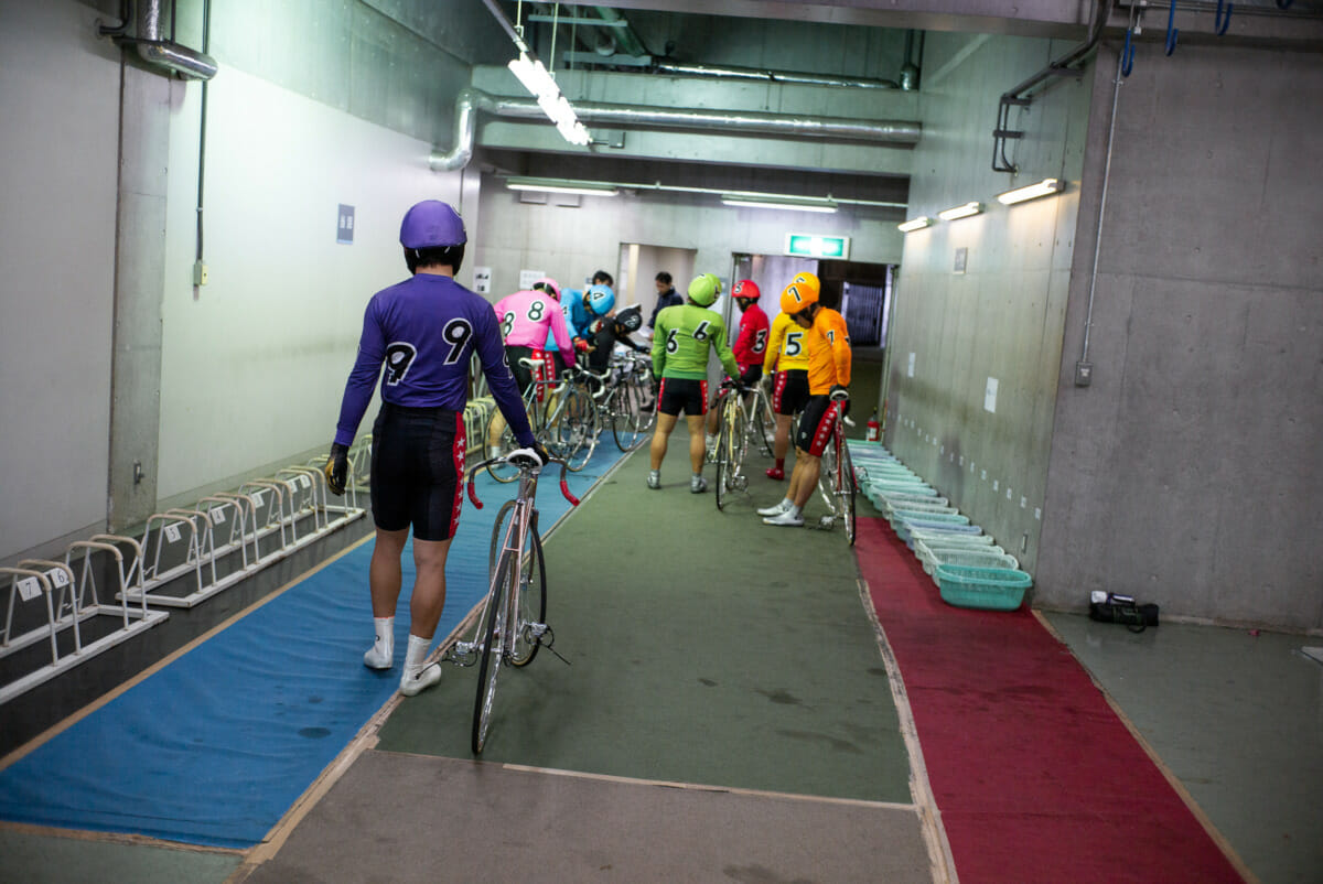 Japanese keirin in pictures