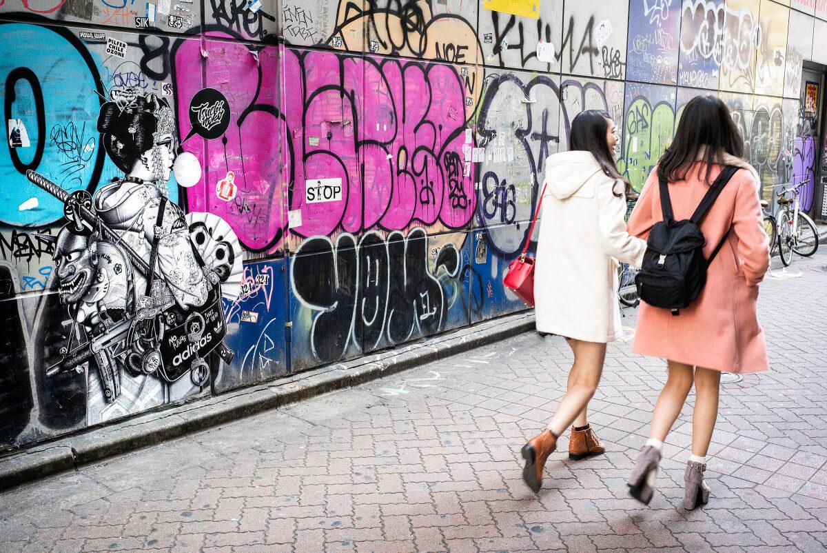Japanese urban art