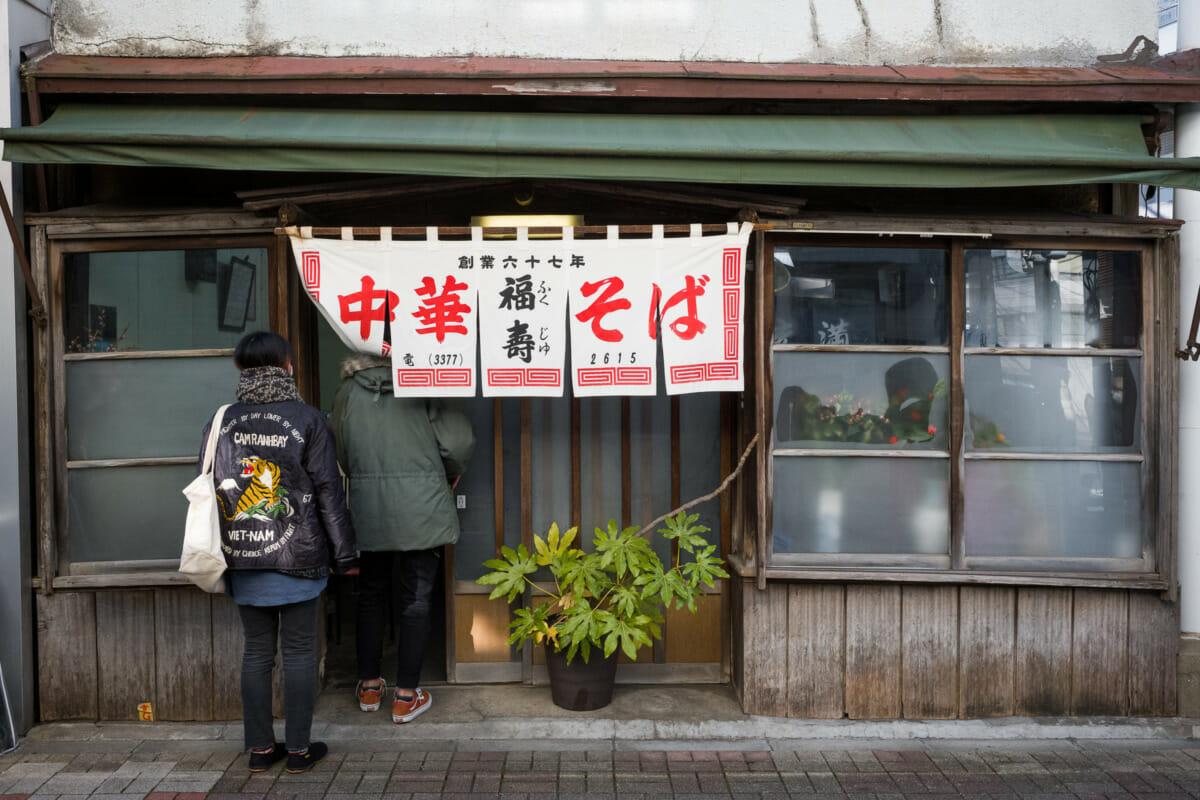 70-year-old Tokyo restaurant