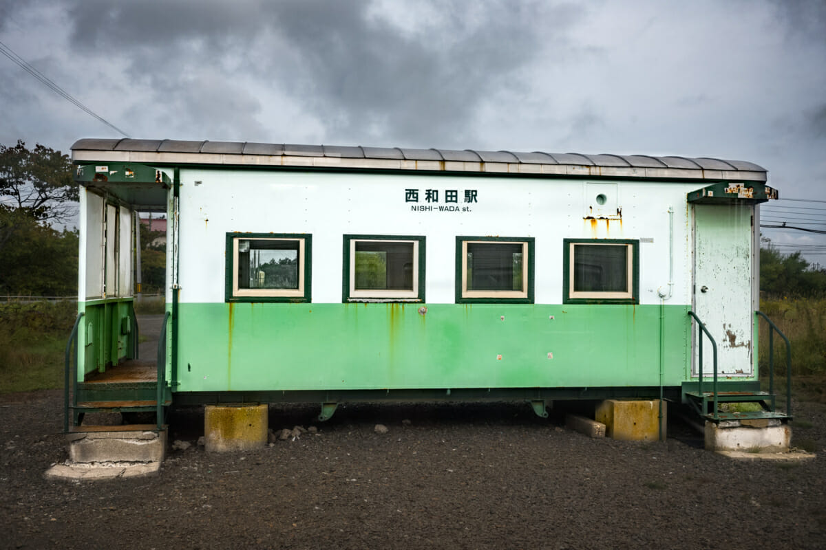 local train travel in rural Japan