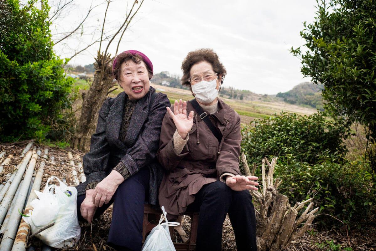 lovely rural japan ladies