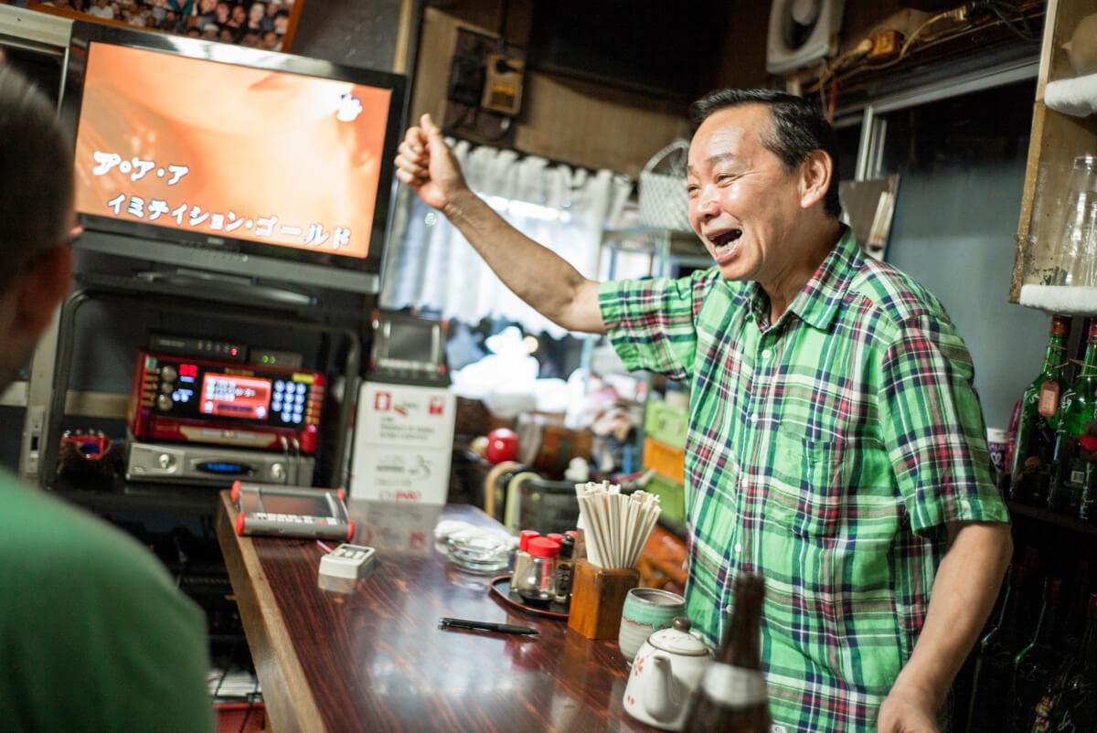 old Tokyo karaoke bar