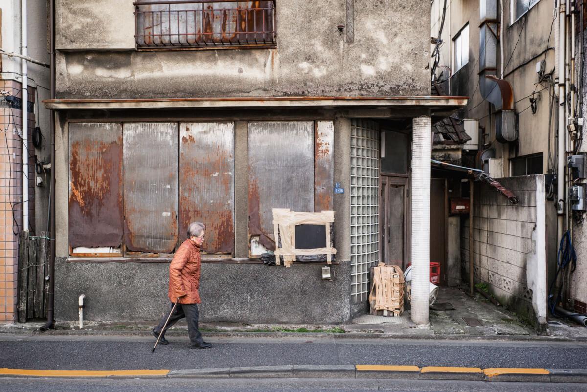 old tokyo and Tokyo's elderly