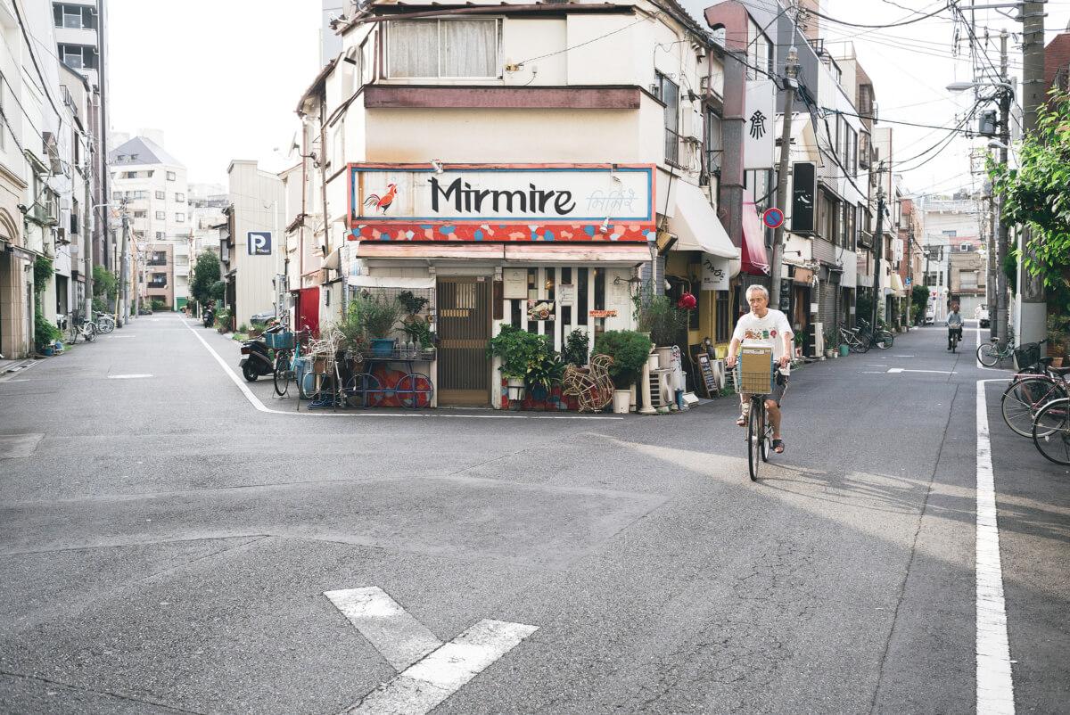 quiet tokyo streets