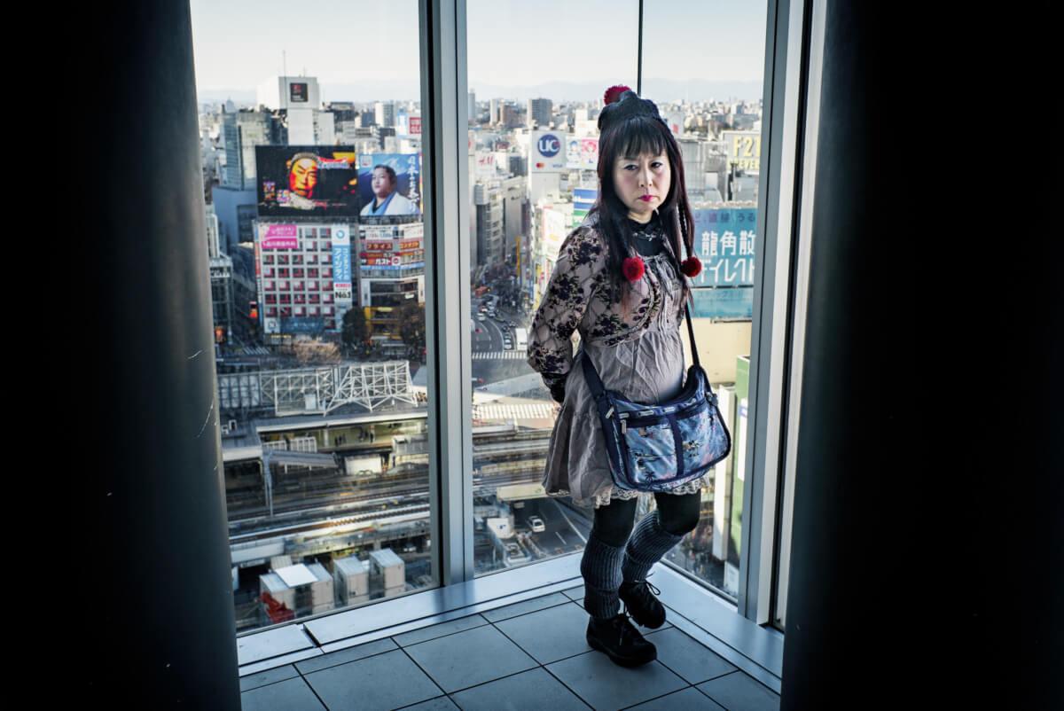 Shibuya from high up
