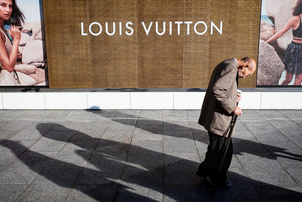 Shinjuku Louis Vuitton contrast
