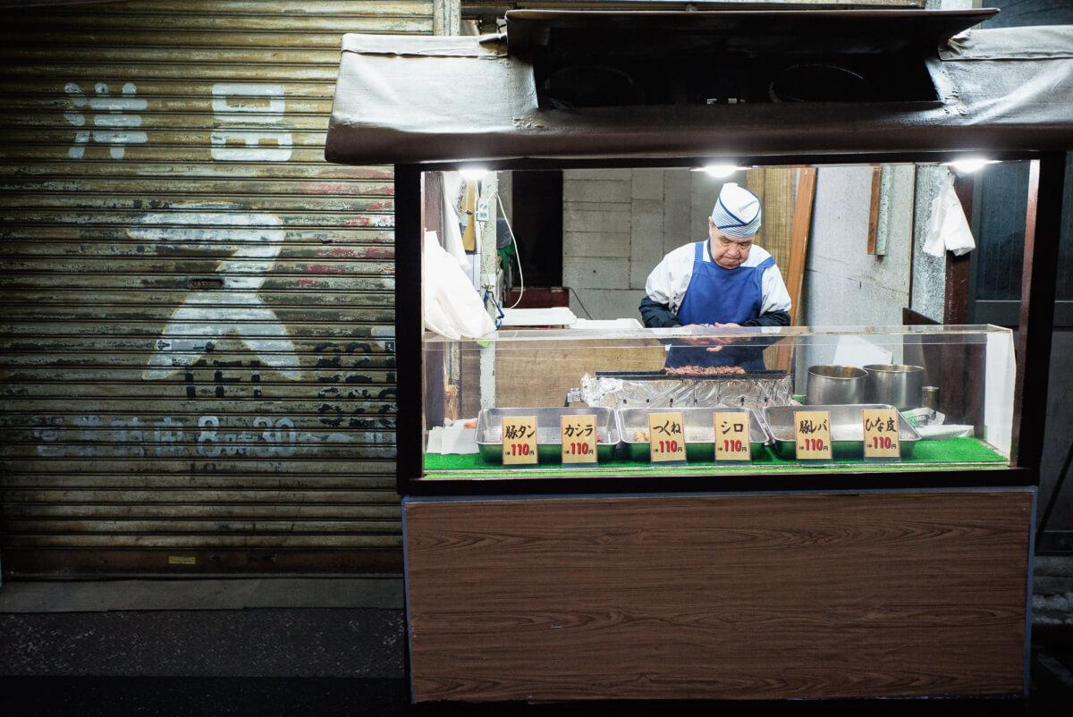 simple tokyo street food