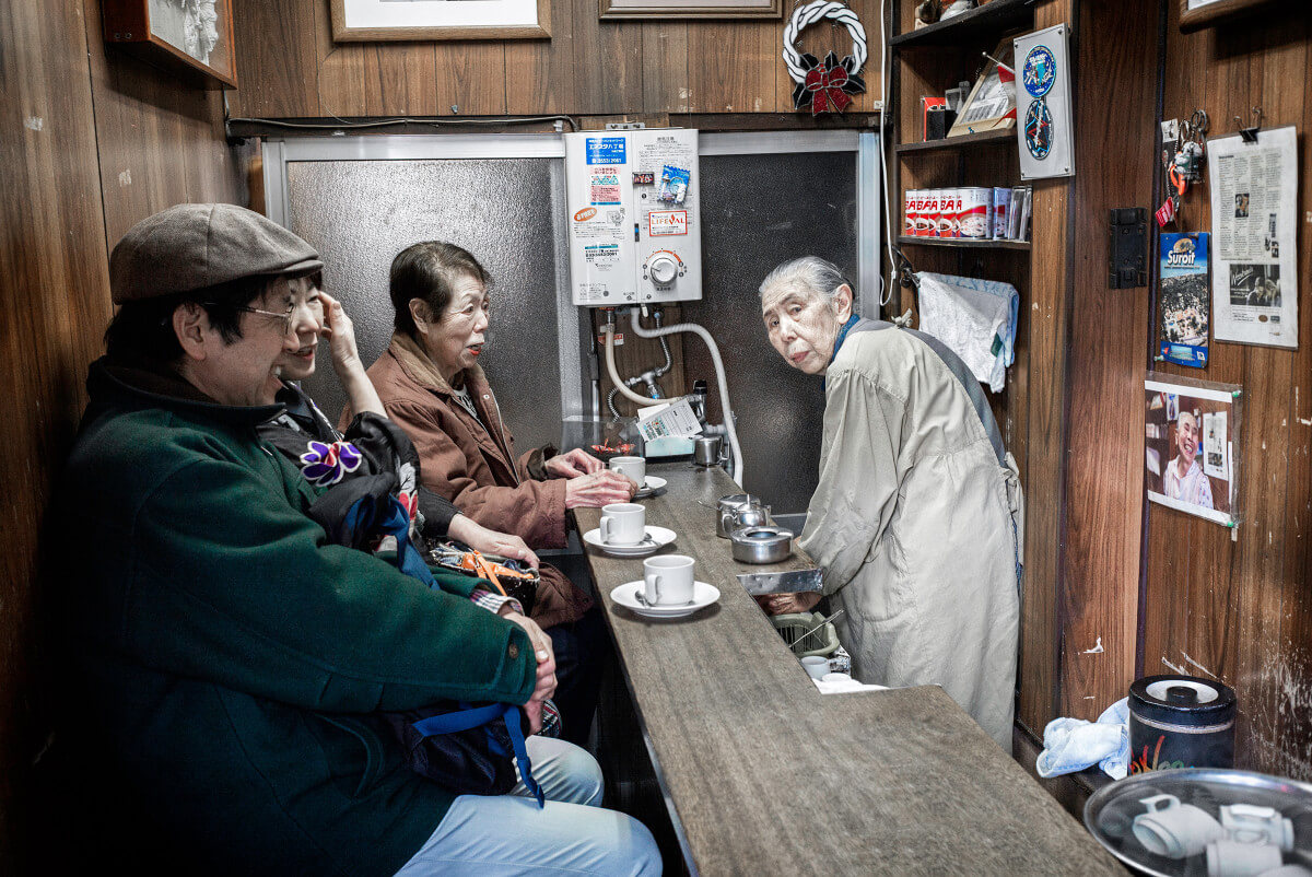 tiny Tokyo coffee shop