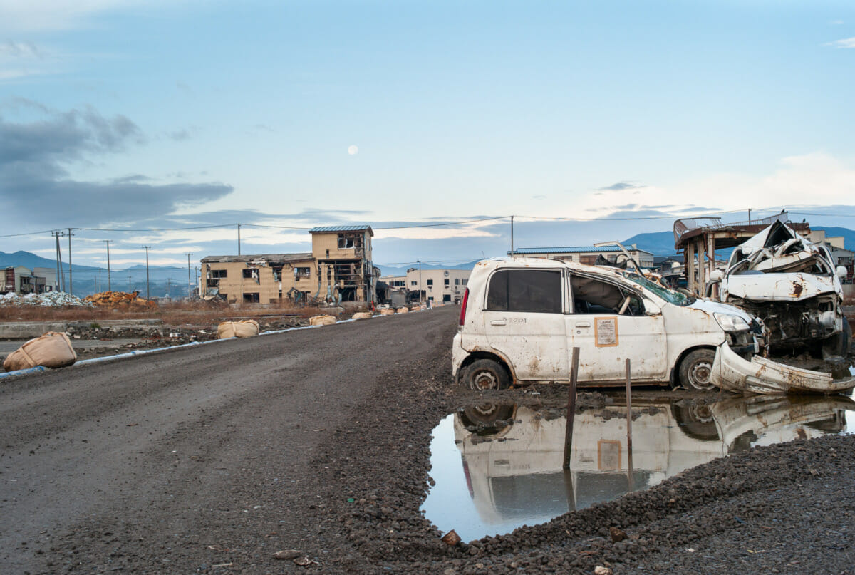 Photographs from Tohoku after the earthquake, tsunami and nuclear meltdown in 2011