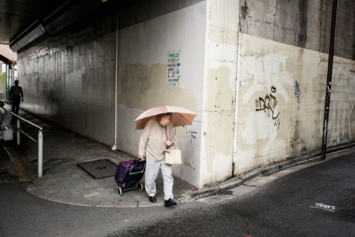 Tokyo concrete and corners