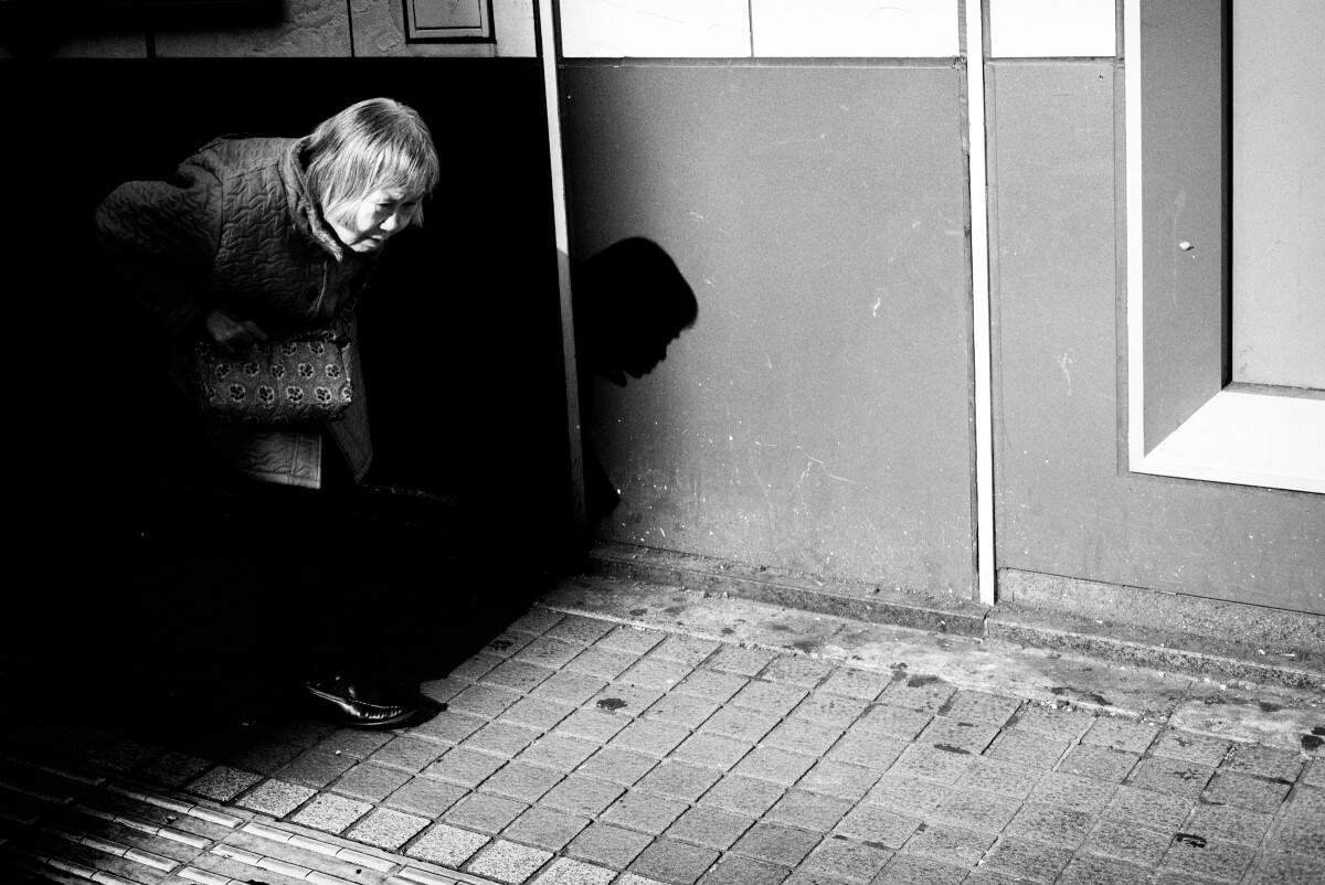 dodging the shadows in Tokyo