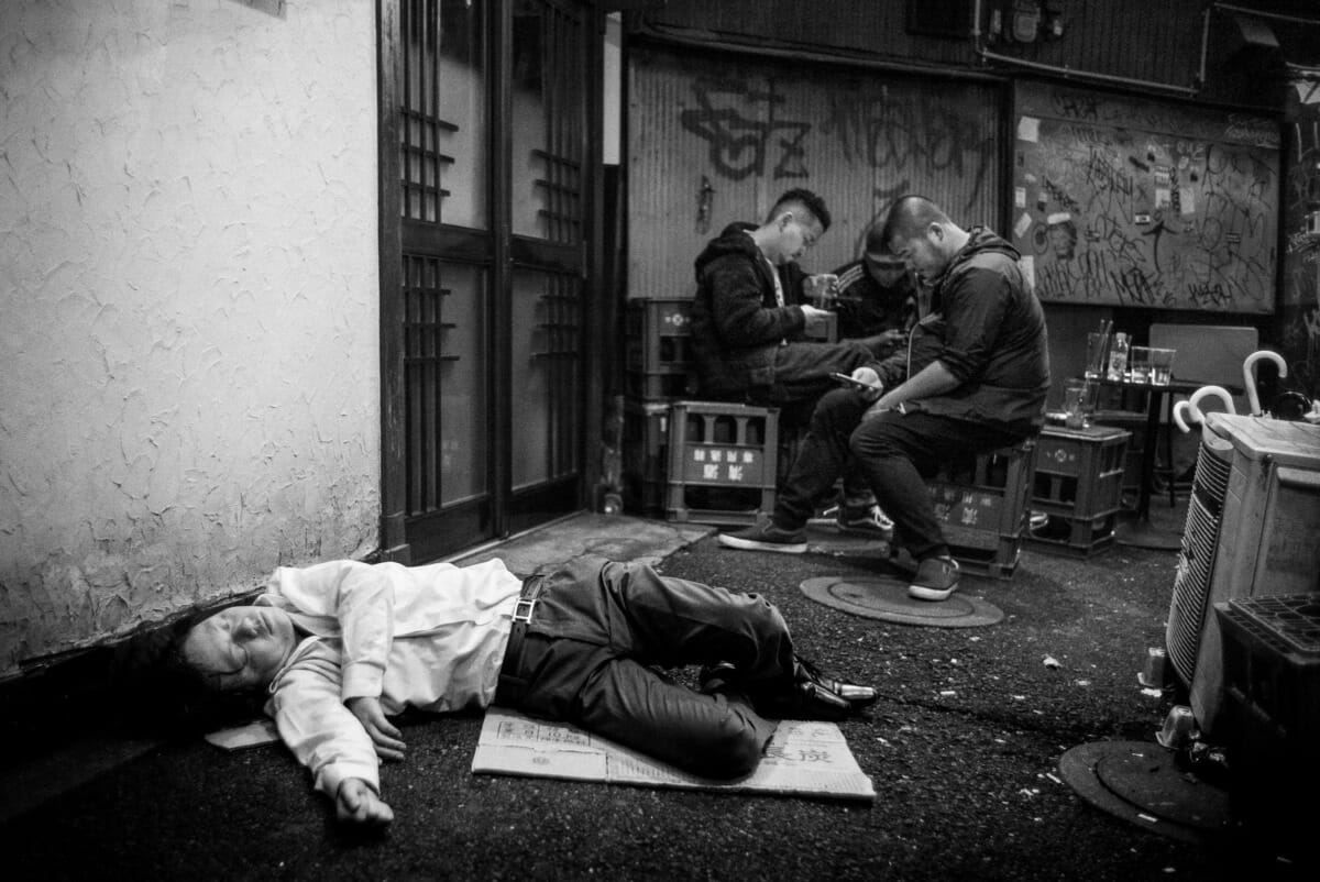 tokyo drunk and indifference