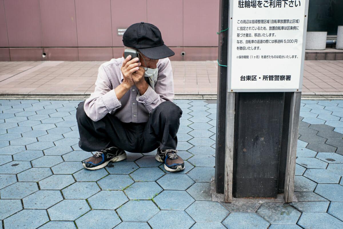old Tokyo gambler