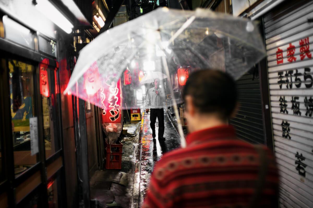 Tokyo rainy season reflections