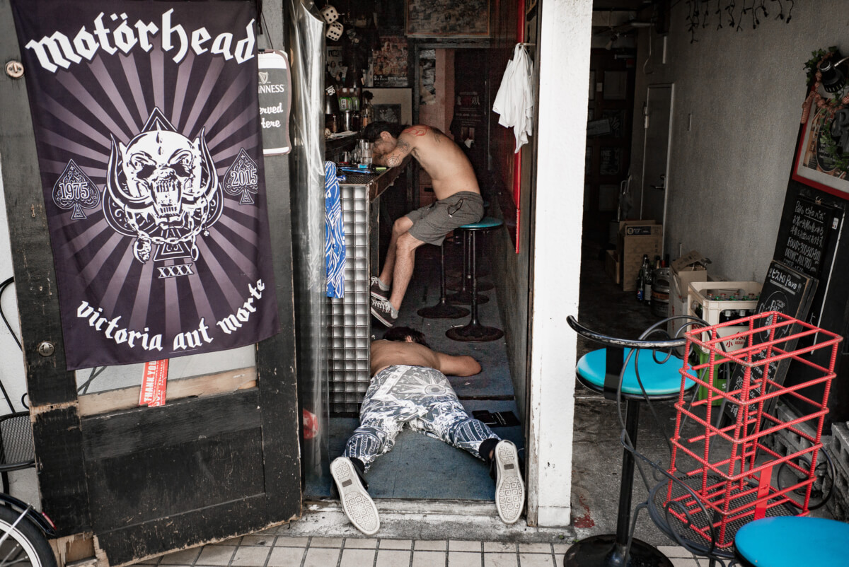tokyo rock and roll drunks