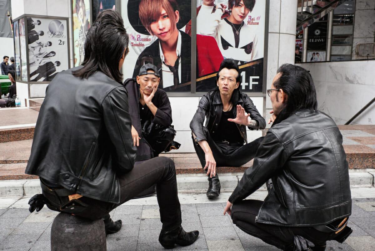 tokyo rockabilly quiffs and modern looks
