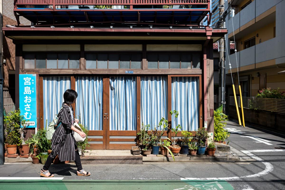 matching Tokyo stripes