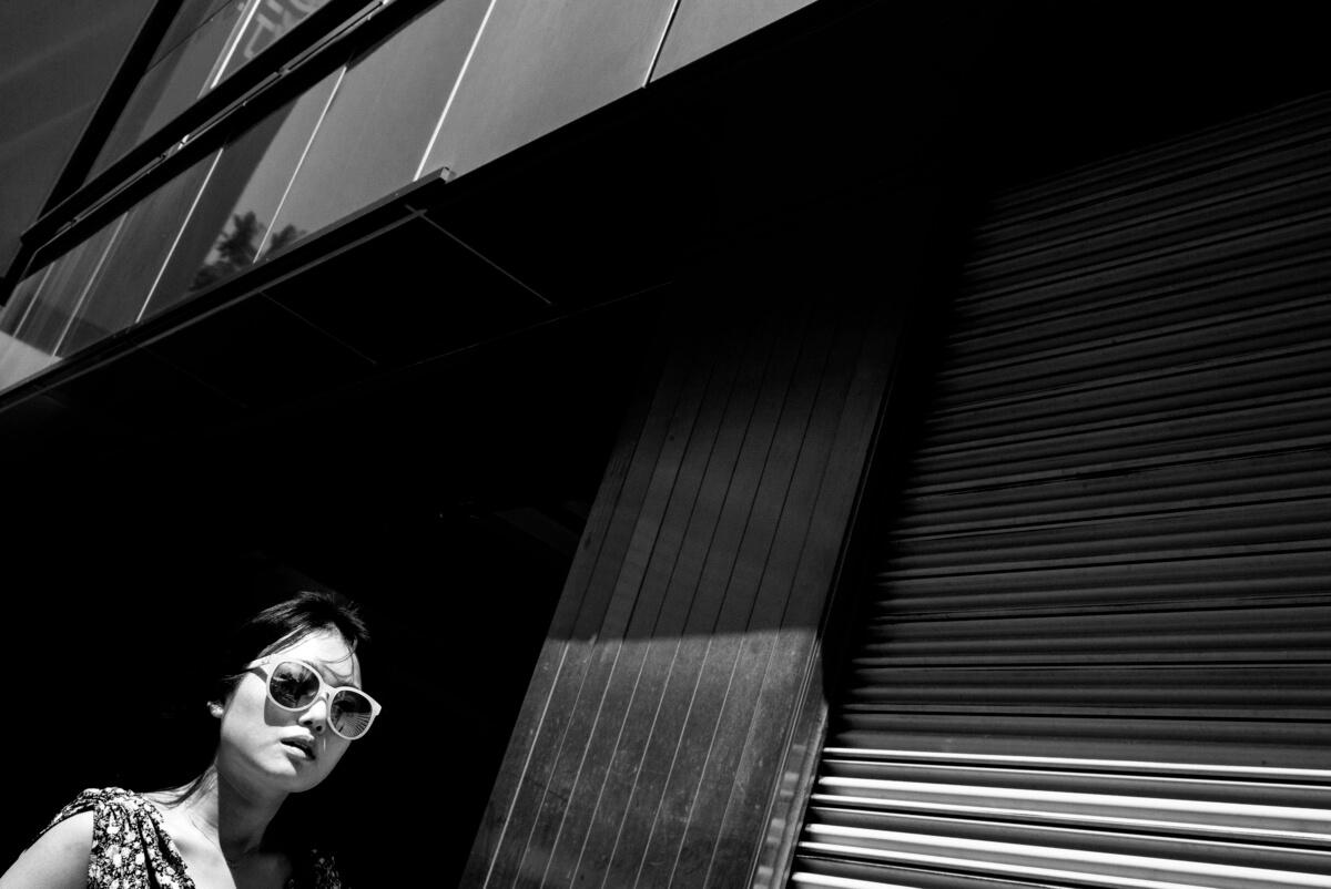 Tokyo summer sun and shadows