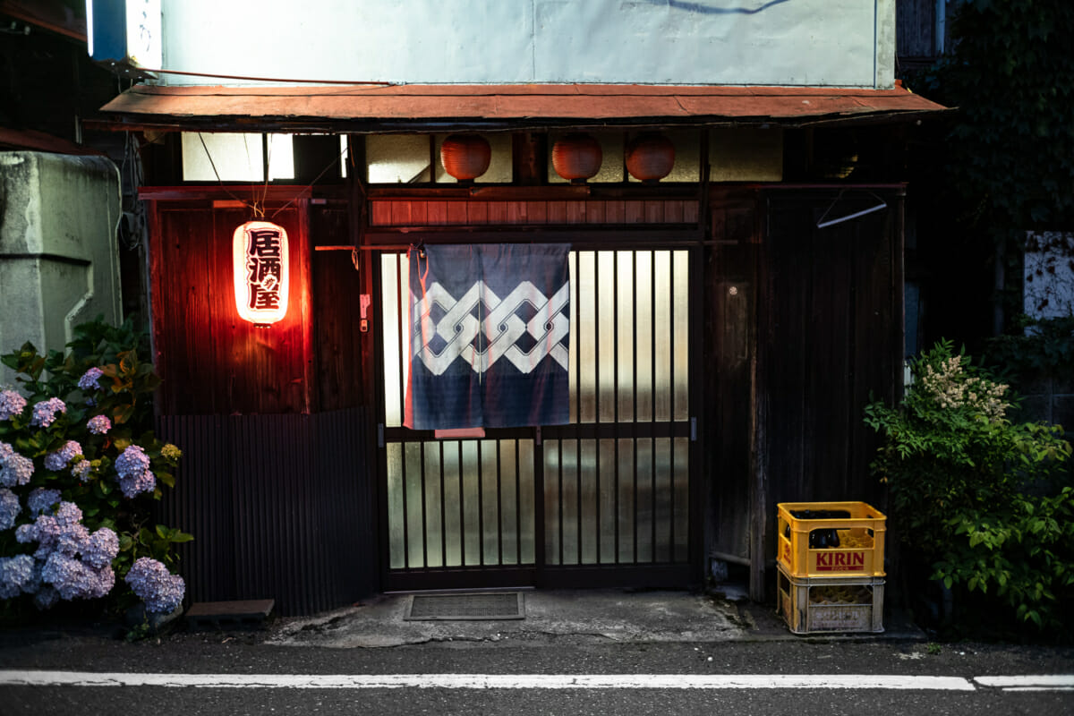 a traditional little Tokyo bar
