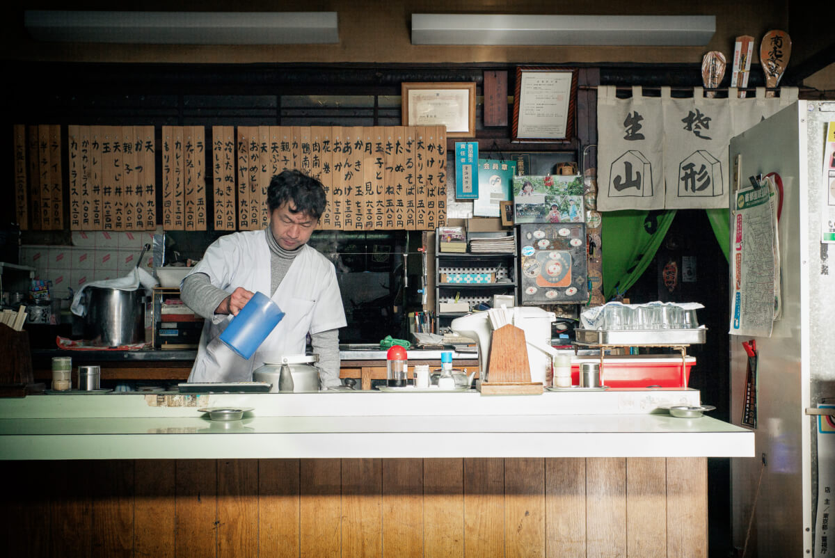 old and traditional tokyo restaurant