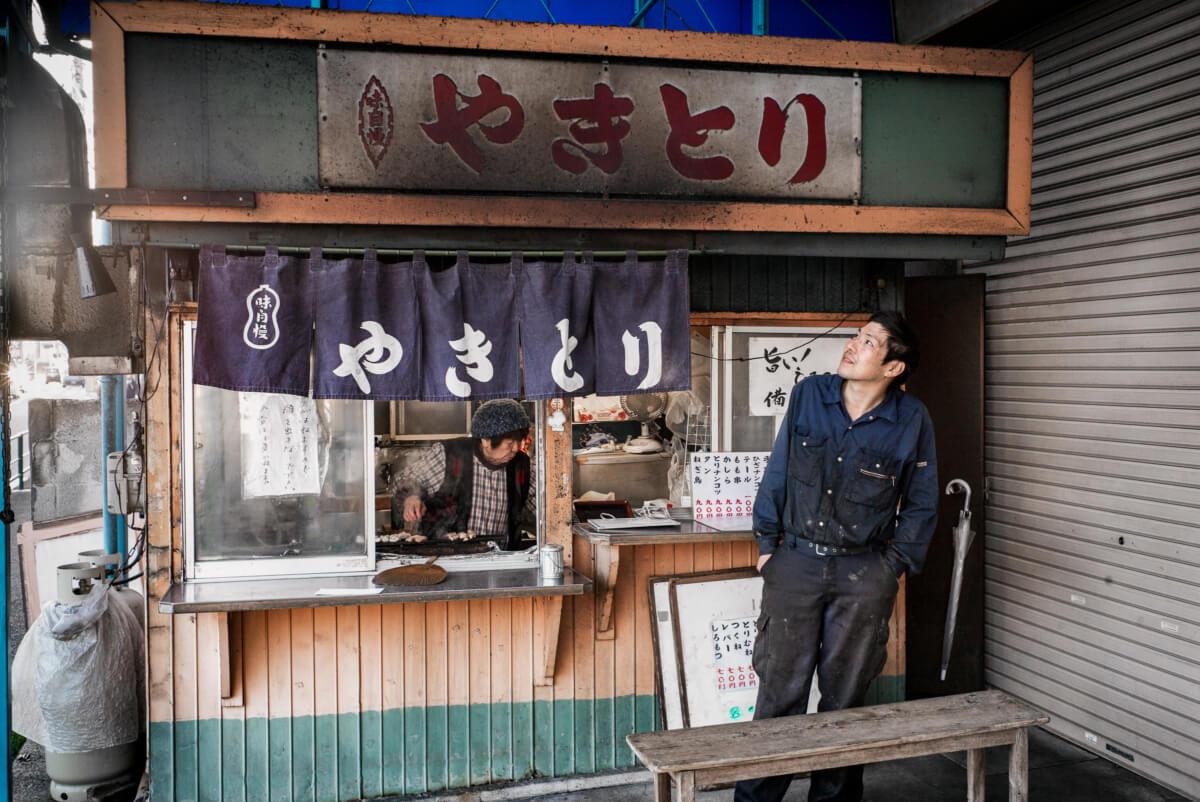 dirty yakitori in tokyo